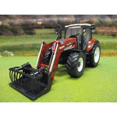 UNIVERSAL HOBBIES 1:32 NEW HOLLAND T5.120 CENTENARIO TRACTOR & FRONT LOADER LIMITED EDITION