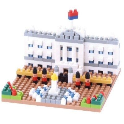 NANOBLOCK® BUCKINGHAM PALACE (310 + PIECES) MINI BUILDING BLOCKS