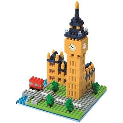 NANOBLOCK® BIG BEN LONDON (460 + PIECES) MINI BUILDING BLOCKS