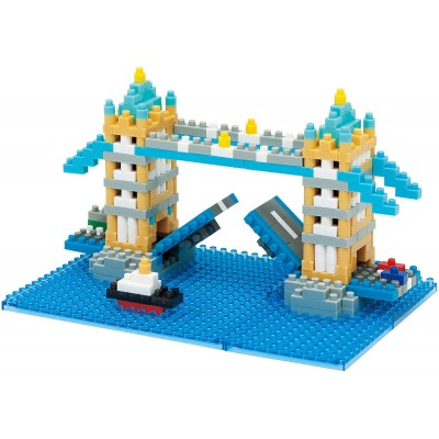 NANOBLOCK® TOWER BRIDGE LONDON (460 + PIECES) MINI BUILDING BLOCKS