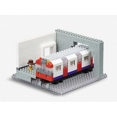 NANOBLOCK® LONDON UNDERGROUND (290 + PIECES) MINI BUILDING BLOCKS