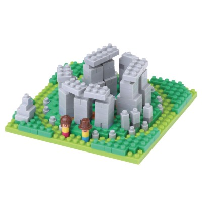 NANOBLOCK® STONEHENGE (240 + PIECES) MINI BUILDING BLOCKS