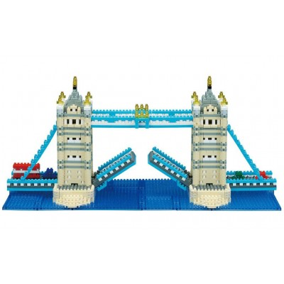 NANOBLOCK® DELUXE TOWER BRIDGE LONDON (1700 + PIECES) MINI BUILDING BLOCKS