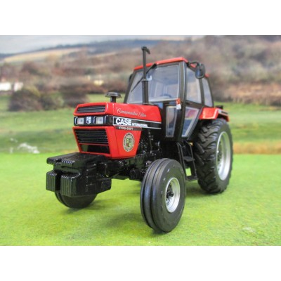 UNIVERSAL HOBBIES 1:32 CASE IH COMMEMORATIVE LTD EDITION RED 1494 2WD TRACTOR (1988)