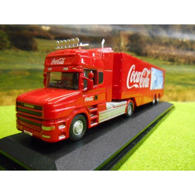 OXFORD 1:76 EDDIE STOBART SCANIA HIGHLINE & DTEC CONTAINER COMBI TRAILER TRUCK