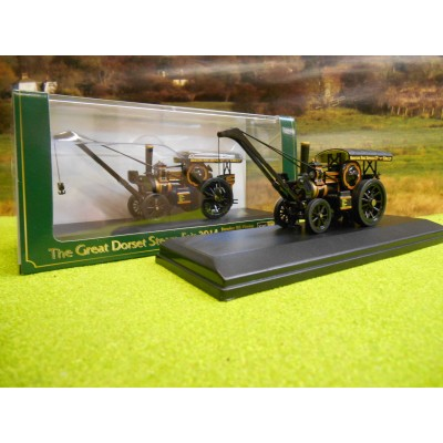 OXFORD 1:76 FOWLER B6 STEAM LOCOMOTIVE PICKFORDS TITAN