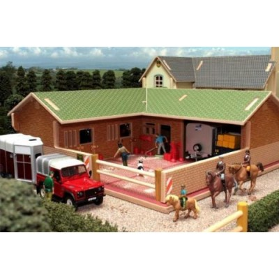 BRUSHWOOD 1:32 WOOD ARABLE STORAGE SHED BARN