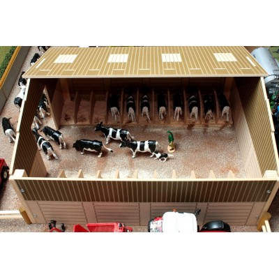 BRUSHWOOD 1:32 WOODEN MONSTER CUBICLE COW SHED BARN