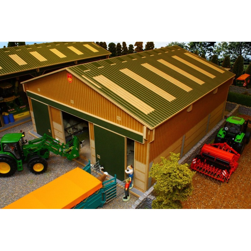 Toy Model Buildings : Brushwood big basics livestock barn one farm toys