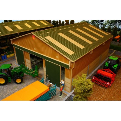 BRUSHWOOD 1:32 MY FIRST FARM WOODEN BUILDING PLAYSET