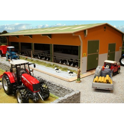 BRUSHWOOD 1:32 TWIN ROW CUBICLE SHED