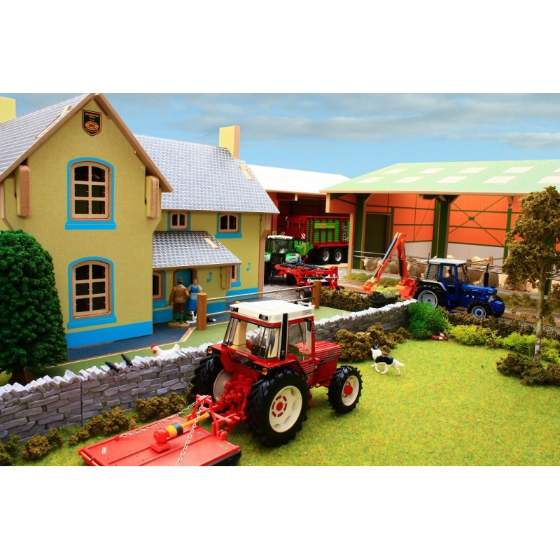 Brushwood 1 32 farm house one32 farm toys and models for Farm house model