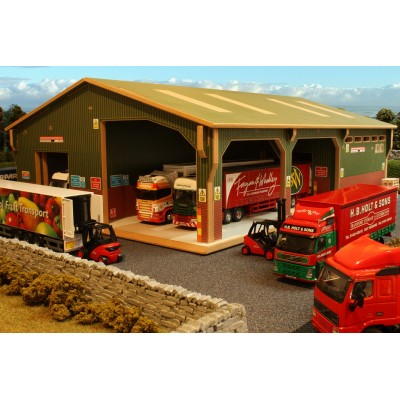 BRUSHWOOD 1:50 TRANSPORT WAREHOUSE