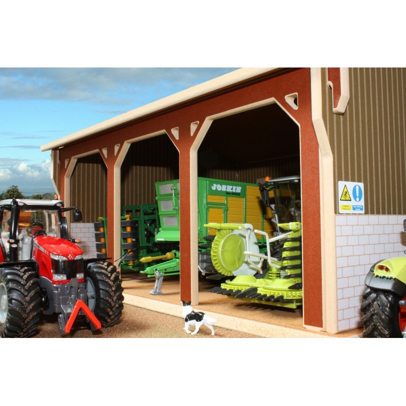 Brushwood 1 32 Tractor Shed Barn One32 Farm Toys And Models
