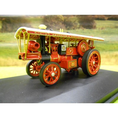 OXFORD 1:76 FOWLER STEAM ROLLER FIPPENNY QUEEN AW FIELD