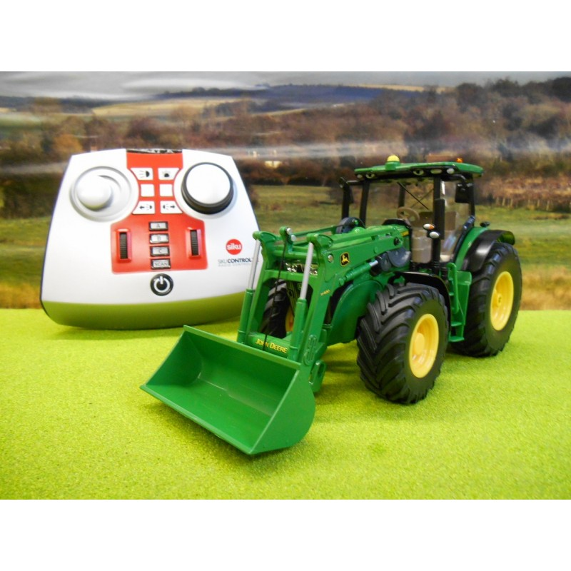 rc trucks with trailers with 1051 Siku Radio Control 132 John Deere 7280r With Front Loader on 733 Pro Chassis For 3 Axle Rigid Trucks And Tractor Trucks likewise Sprayers additionally Caterpillar Excavator Cat 345 P 1245 as well Watch further Watch.