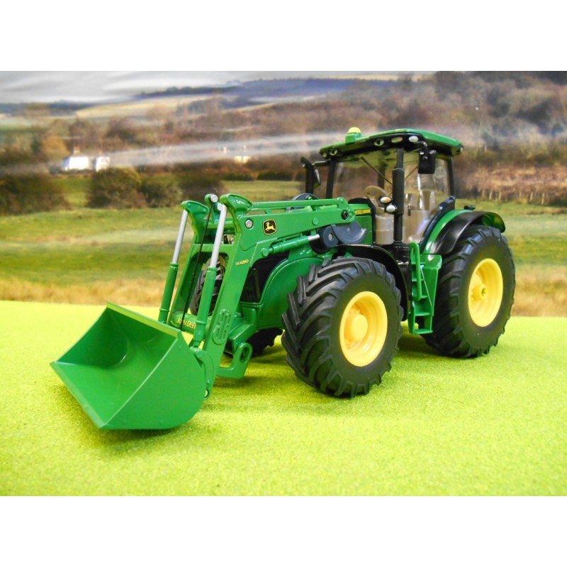 SIKU CONTROL 1:32 JOHN DEERE 7280R WITH FRONT LOADER AND REMOTE CONTROL