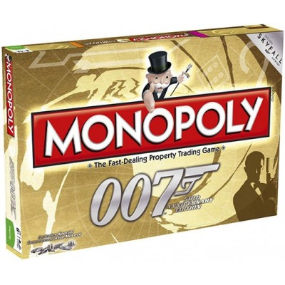MONOPOLY - 007 JAMES BOND 50th ANNIVERSARY MONOPOLY BOARD GAME