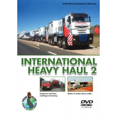 INTERNATIONAL HEAVY HAUL CP PRODUCTIONS HEAVY HAULAGE DVD