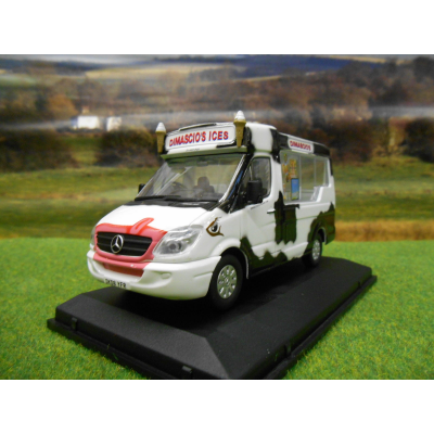 OXFORD MERCEDES SPRINTER WHITBY MONDAIL WALLS ICE CREAM VAN 1:43