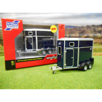BRITAINS 1:32 IFOR WILLIAMS HB506 HORSEBOX TRAILER