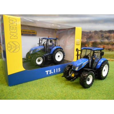 UNIVERSAL HOBBIES 1:32 NEW HOLLAND T5.115 4WD TRACTOR