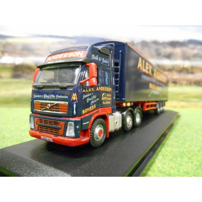 OXFORD 1:76 EDDIE STOBART SCANIA HIGHLINE NEW STYLE BIOMASS