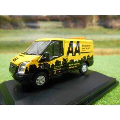 OXFORD 1:76 OXFORD AA BREAKDOWN NEW SHAPE SWB FORD TRANSIT VAN