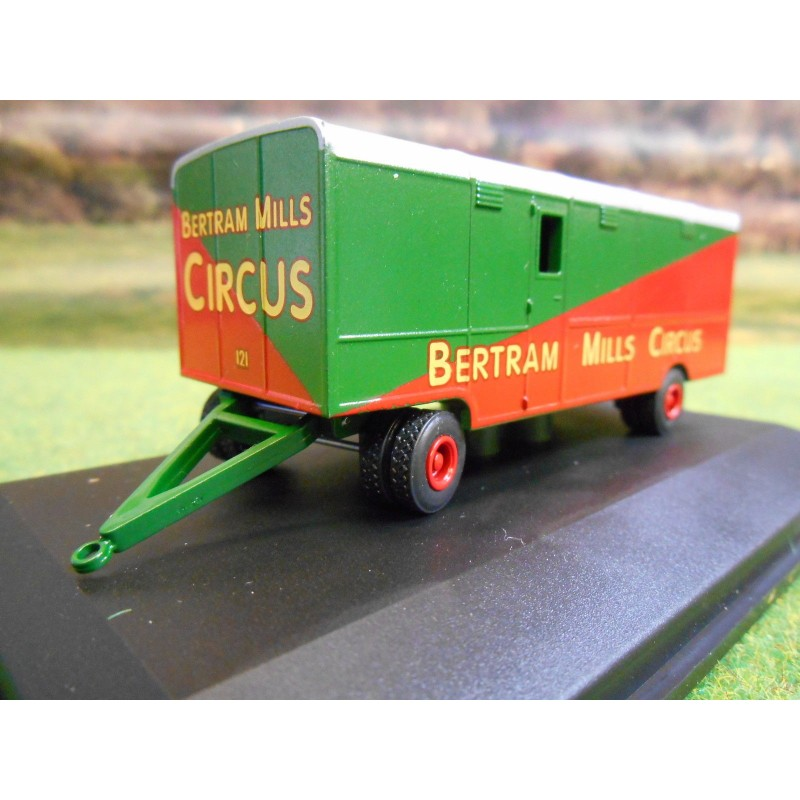 OXFORD 1:76 BEDFORD OX BILLY SMARTS CIRCUS BOOKING OFFICE