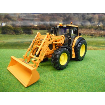 WIKING 1:32 JOHN DEERE 7430 WITH FRONT LOADER AND TOOLS