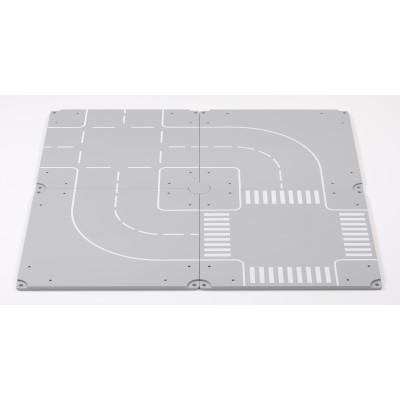 SIKU WORLD ACCESSORIES: PARKING AREA AND STRAIGHT SECTION