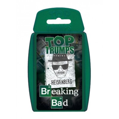 TOP TRUMPS - BREAKING BAD CARD GAME