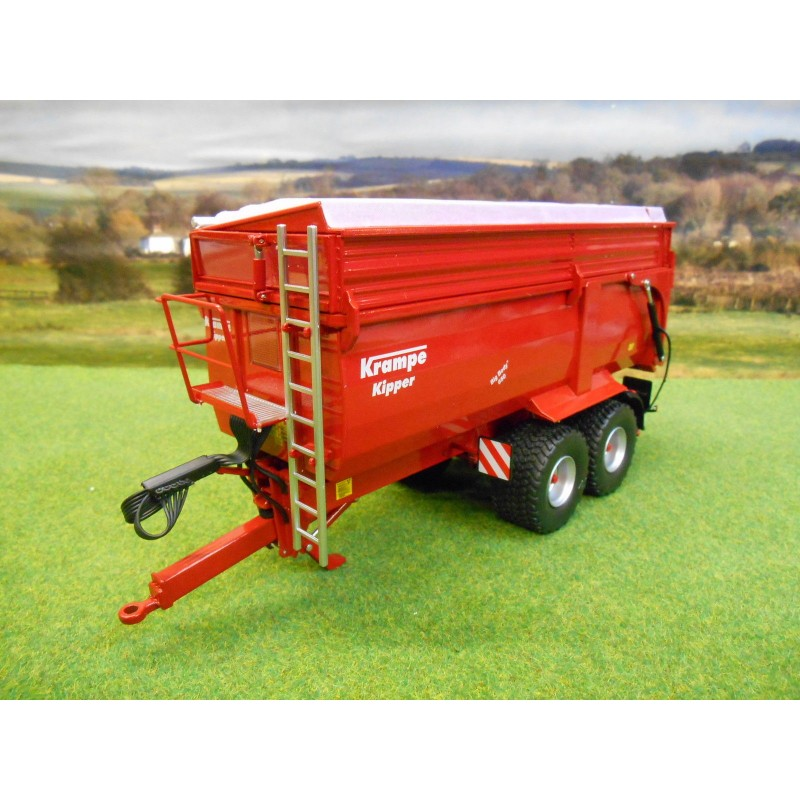 WIKING 1:32 KRAMPE KIPPER BIG BODY 650 TIPPER TRAILER