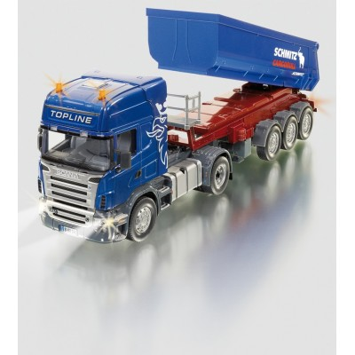 SIKU CONTROL 1:32 SCANIA TOPLINE CAB WITH TIPPING TRAILER