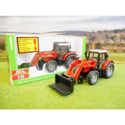 SIKU 1:32 MASSEY FERGUSON 5455 4WD TRACTOR WITH LOADER