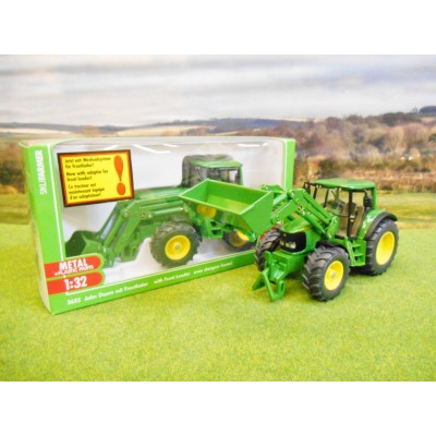 SIKU 1:32 JOHN DEERE 6820S 4WD TRACTOR WITH LOADER
