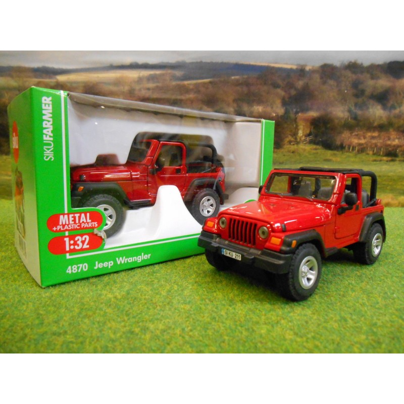 1:32 Jeep Wrangler Spielzeugautos & Zubehör Siku 132