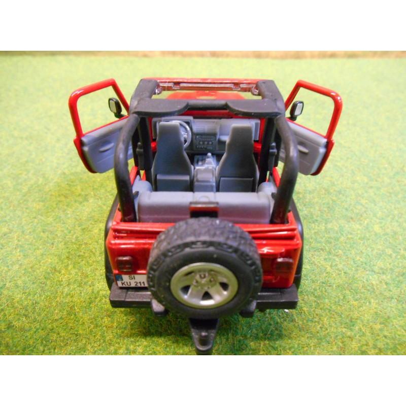 Siku 132 Spielzeugautos & Zubehör 1:32 Jeep Wrangler