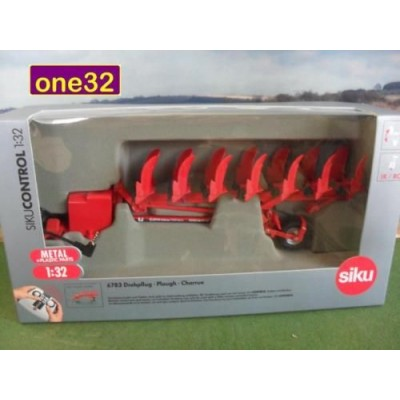 SIKU CONTROL VOGEL NOOT 7 FURROW REVERSABLE PLOUGH