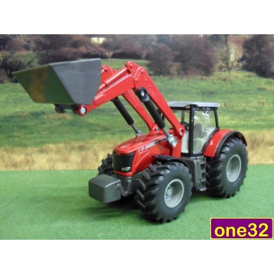 SIKU 1:50 MASSEY FERGUSON 8690 WITH FRONT LOADER