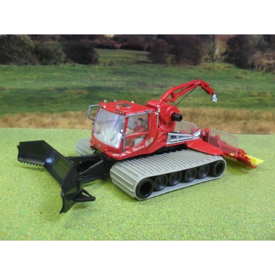 SIKU 1:50 SNOW TRACKED PISTE PISTEN BULLY 600 WITH CRANE