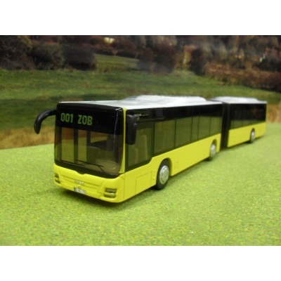 SIKU 1:50 MAN ARTICLULATED BENDY BUS