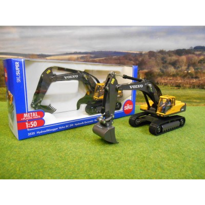 SIKU 1:50 VOLVO EC290C EXCAVATOR - FACE LIFT VERSION