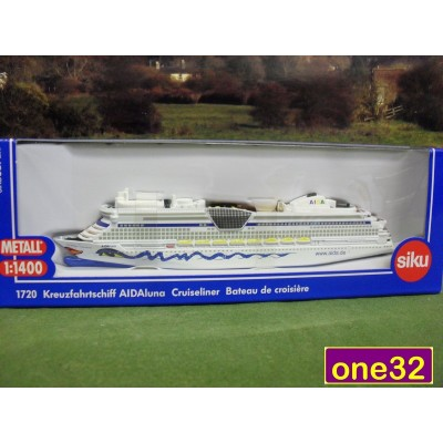SIKU AIDA LUNA CRUISELINER SHIP MODEL 1:1400