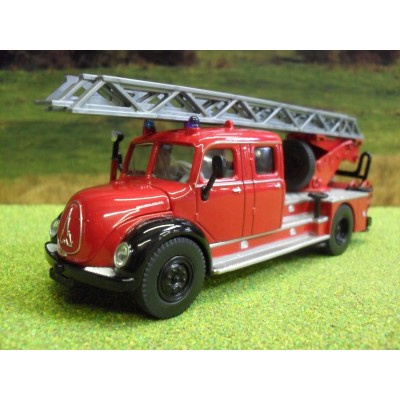 SIKU 1:50 CLASSIC MAGIRUS DEUTZ DL30 LADDER FIRE ENGINE