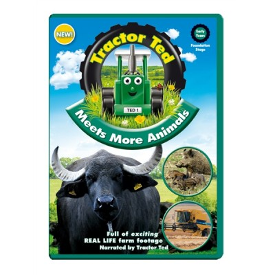 TRACTOR TED: MEETS MORE ANIMALS DVD