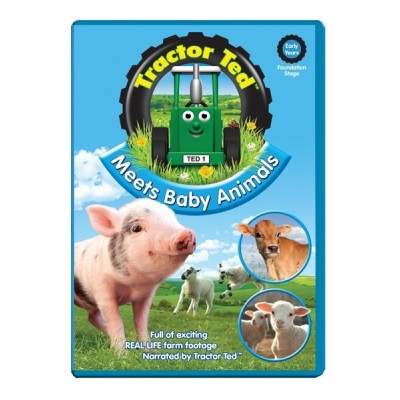 TRACTOR TED: MEETS BABY ANIMALS DVD