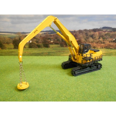 JOAL 1:50 KOMATSU PC1100LC-6 & SCRAP MAGNET ON METAL TRACKS