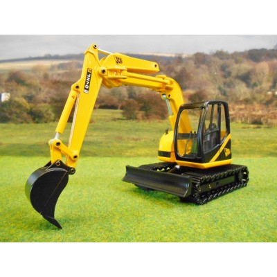 JOAL DIECAST 1:35 JCB JZ70 EXCAVATOR ON METAL TRACKS