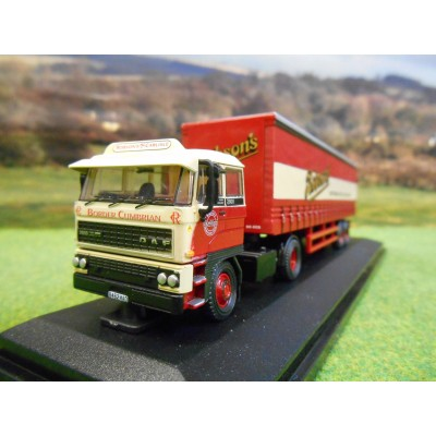 OXFORD 1:76 DAF 2800 CURTAINSIDER ROBSONS OF CARLISLE